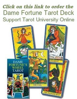 Order Huson's Dame Fortune Tarot