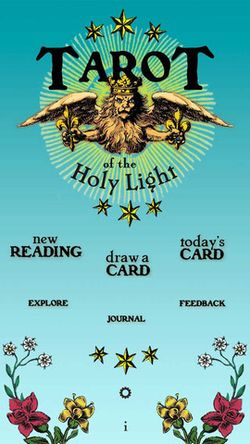 Tarot of the Holy Light iTunes App
