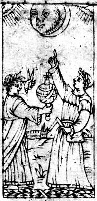 Rothschild tarot, Astronomers