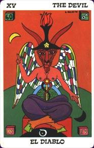 Balbi Tarot - The Devil