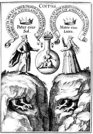 The Golden Game, Coitus Engraving, 17th c.
