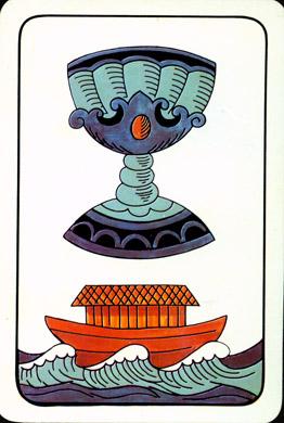 Prager Tarot Ace of Cups