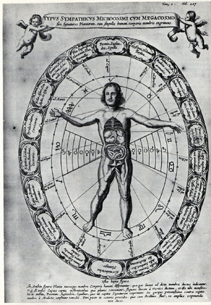 Kircher's Astrological Man