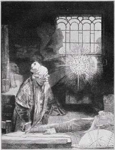 Rembrandt's Faustus
