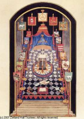 The Royal Arch - Tracing Board