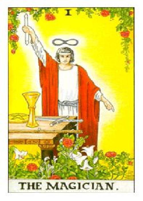 I - The Magus - The Magician - Tarot