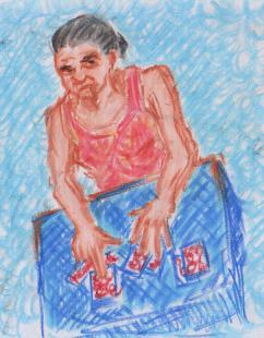 Tarot Reader at villageidiotsavant.com